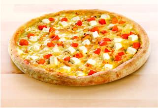 Горчичная пицца